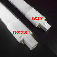 G23 bombilla LED 6W 8W luces de tubo LED SMD 2835 G23 lámpara led AC85-265V Epistar chip LED PL lámpara 110V 220V 230V