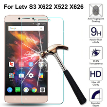 9H Premium Tempered Glass For Letv LeEco Le S3 Screen Protector Toughened protective film For Letv S3 X622 X522 X626 стоимость
