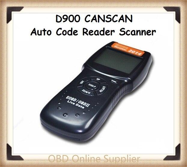 D900 CANSCAN scanner OBD2 en direct PCM lecteur de Code de données Scanner automatique Code EOBD Scanner de Diagnostic avec livraison gratuite