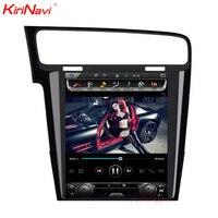 KiriNavi Vertical Screen Tesla Style Android 6 0 10 4 Inch Car DVD Gps For VW