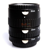 Meike MK-S-AF-B Metal Auto Focus AF Macro Extension Tube Set for Sony Camera