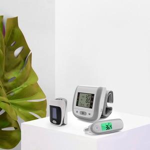 Image 2 - Yongrow Digital Fingertip Pulse Oximeter SpO2 Wrist Blood Pressure Monitor Ear Infrared Thermometer Family Health Care Oxygen PR