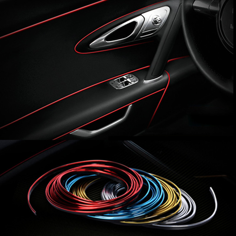 Image 2 - 3M 5M Car Styling Interior Exterior Decoration Strips Stickers for Opel Mokka Corsa Astra G J H insignia Car Accessories-in Car Stickers from Automobiles & Motorcycles