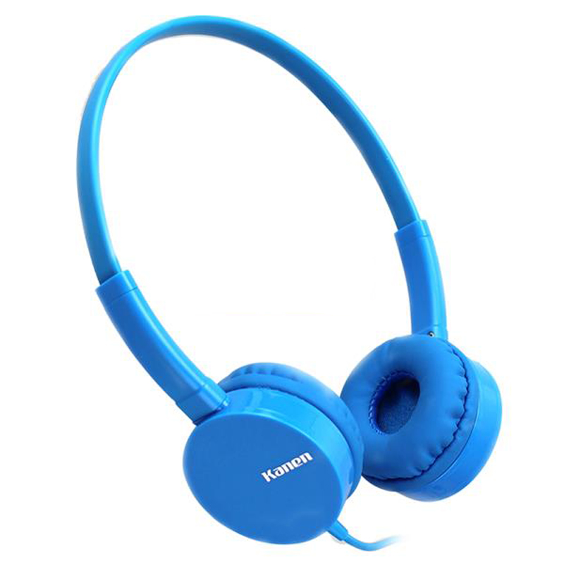 Kanen ip-600 Over Head Headphones Casque Audio Earphones With Mic for Boys Girls Kids Children Teens Stereo Headset Headfone