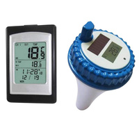 Wireless Solar Power Floating Pool Thermometer Digital Swimming Pool SPA Floating Thermometer BB55