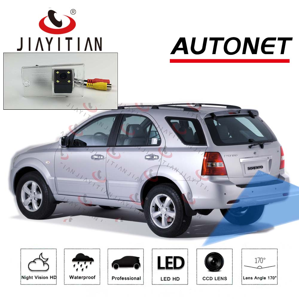 JIAYITIAN Rear View Camera For Kia Sorento Naza Sorento BL XM 2003~2011 Reverse Camera/CCD/Night Vision/license Plate Camera