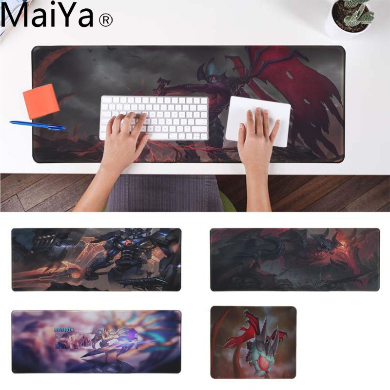 MaiYa Hot Sales Aatrox league of legends Comfort Mouse Mat Gaming Mousepad Durable Rubber Mouse Mat Pad