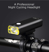 New Bicycle Rechargeable USB Light Bike Lights Flashing Front Head Flashlight Cycling Bicycle LED Lamp Sport Lighting