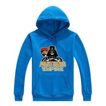 2017 Panthers Empire Star Wars Darth Vader Men Sweashirt Women warm Florida hoodies 0105-15