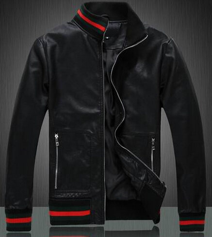 1e3b0679c Best Selling Mens Casual Leather Jacket Italian Style Brand Classic ...