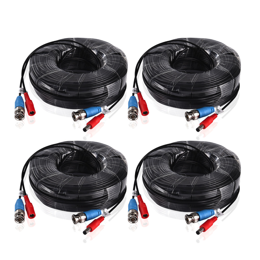ANNKE-4PCS-a-Lot-30M-100-Feet-BNC-Video-Power-Cable-For-CCTV-AHD-Camera-DVR