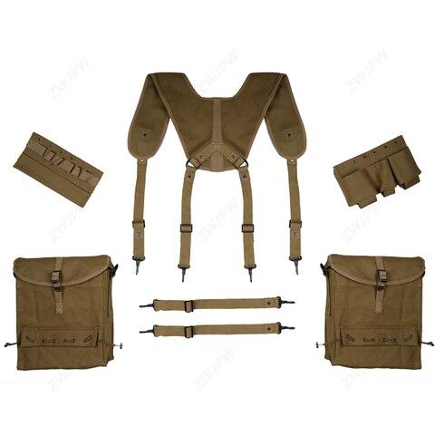 segunda guerra mundial eua hacksaw cume medic soldado do exercito equipamento set bag cinto cinta