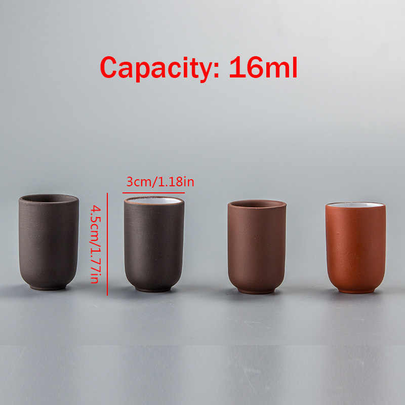 ถ้วยชาขนาดเล็กจีนโบราณถ้วยชาสีม่วงชาชามเซรามิคจีน kung fu ชาชุดชาและกาแฟเครื่องมือ D052