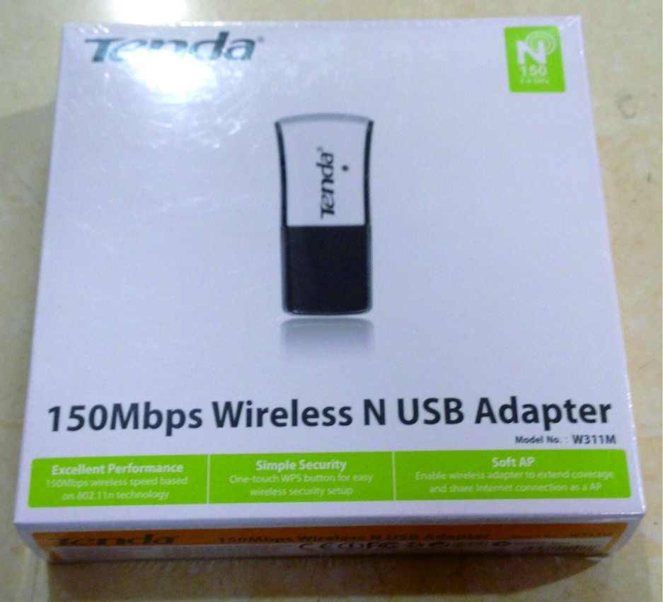 Adattatore Pico N Wi-Fi 150Mbps Tenda W311MI