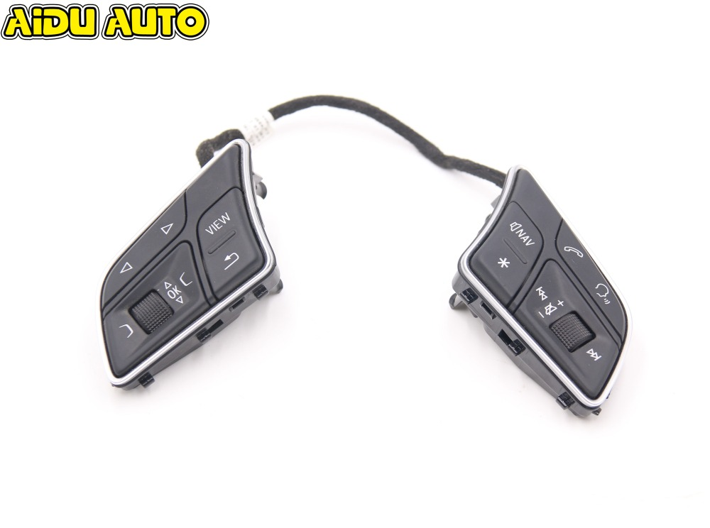 For Audi A4 B9 S3 RS3 8V liquid Crystal Virtual Cluster MFL multi function Steering wheel buttons swith 8W0 951 523 F цена