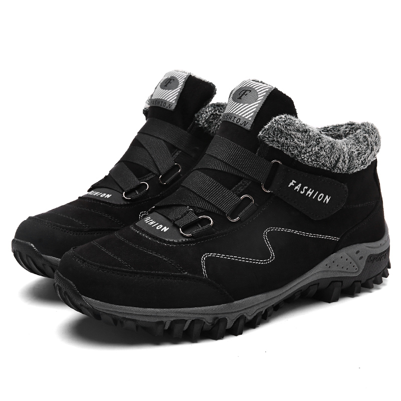 Winter Hiking Shoes For Men Warming Outdoor Mountain Trekking Hiking Boots Men Breathable Hiking Shoes Big Size Shoes
