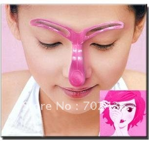Professional salon make up necessary eyebrow template for Action clips grooming salon