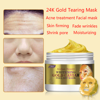 AICHUN 24K Gold 150ml Treatment Acne Mask Fade Wrinkles Skin Firming Oil Control Blackhead Moisturizing Shrink