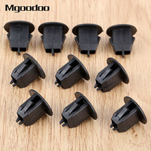 25Pcs Auto Fasteners Retainer Car Clips Trunk Lining Clogging Clip Clamp For Volvo S80 S80L S60 S40 Plastic Rivets