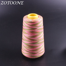 ZOTOONE Sewing Threads Polyester Hand Thread For Leather Knitting Diy Jeans Overlocker Machine Supplies 1500M/Roll