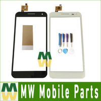 1PC Lot High Quality For ZOPO ZP999 ZP998 Touch Screen Digitizer Replacement Part Black White Color