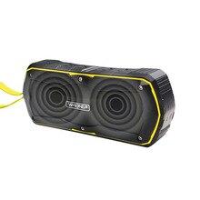 W-roi S9 Extérieur Étanche Bluetooth Haut-Parleur Portable Sans Fil Mains Libres mini Haut-Parleur Stéréo Power Bank avec 4000 mAh Batterie