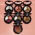 3 Cores Profissional Mulheres Lady Glitter Eyeshadow Palette de Maquiagem Cosméticos Paleta Da Sombra de Olho Fumado