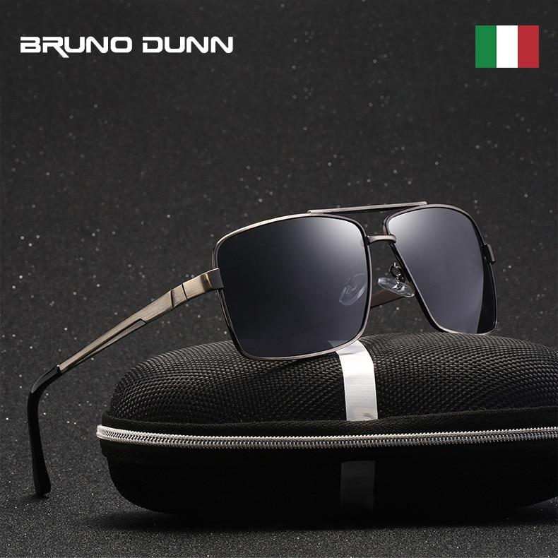 Bruno Dunn Sunglases Men Polarized 2019 Mercedes Brand Design Sun Glases zonnebril mannen Oculos de sol masculino Lunettes