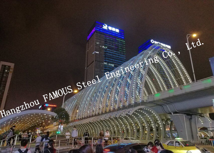 High Storey Prefabricated Shopping Mall Center With  Office Steel Structure Buildings Contractor