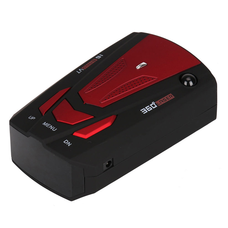1 Pz Auto 16 Band Gps Car Rivelatore Del Radar Per Auto V7 Xk Nk Ku Ka Laser Vg-2 Velocità Voice Alert 360 Gradi Di Allarme Display A Led Curare La Tosse E Facilitare L'Espettorazione E Alleviare La Raucedine
