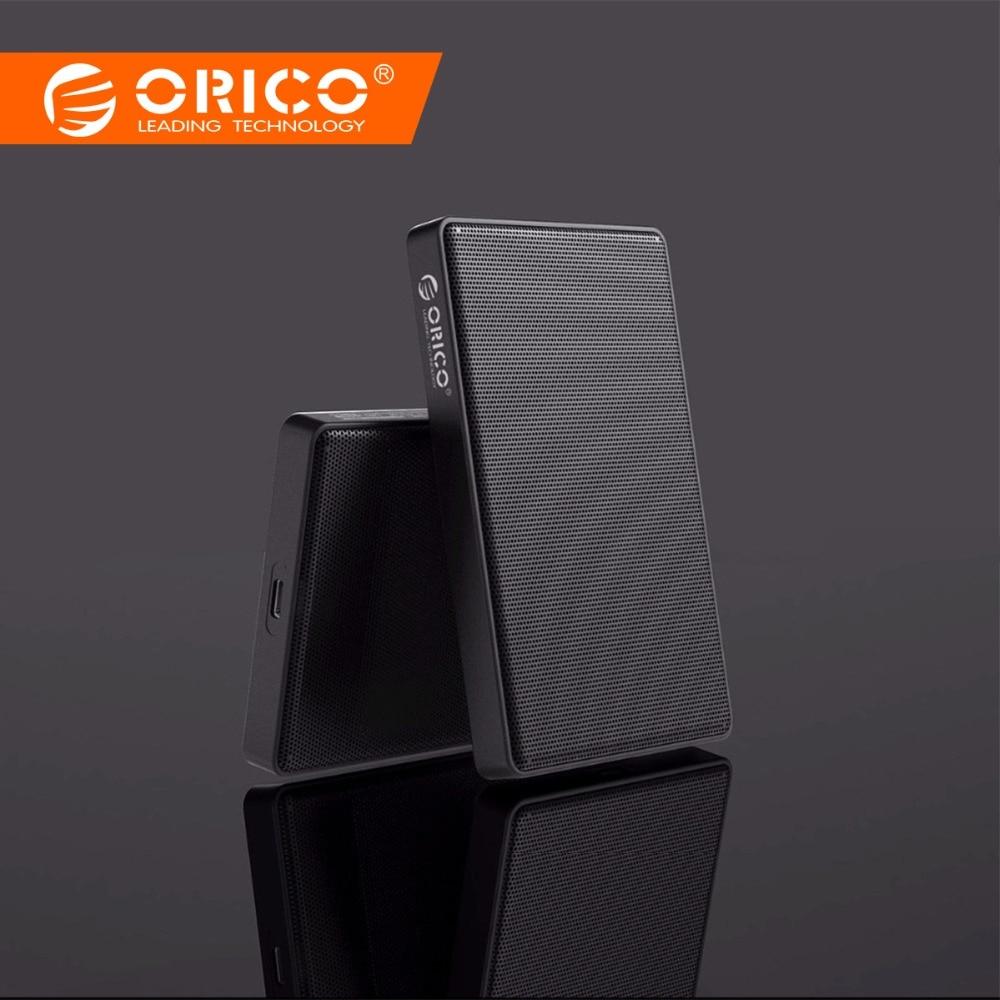 ORICO malla completa caso HDD de 2,5 pulgadas SATA a USB 3,0 SSD adaptador para Samsung Seagate 1/2 TB disco duro externo HDD