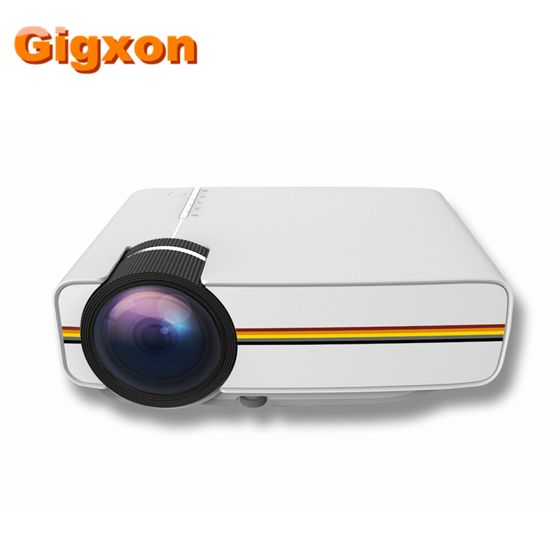 Mini Home Cinema Theater 1080p Hd Multimedia Usb Led: Gigxon G400Y Support Full HD 1920*1080P Mini Projector