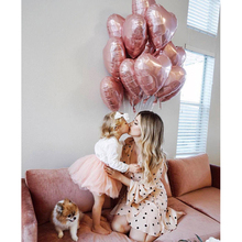 5pcs 5inch Heart Baloon Inflatable Helium Ballon Valentine Day Wedding Birthday Christmas Party Decoration air balioon