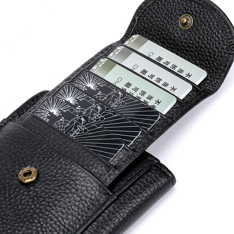 Men 39 s purse business litchi long wallet multi functional leather men 39 s purse in Money Clips from Luggage amp Bags