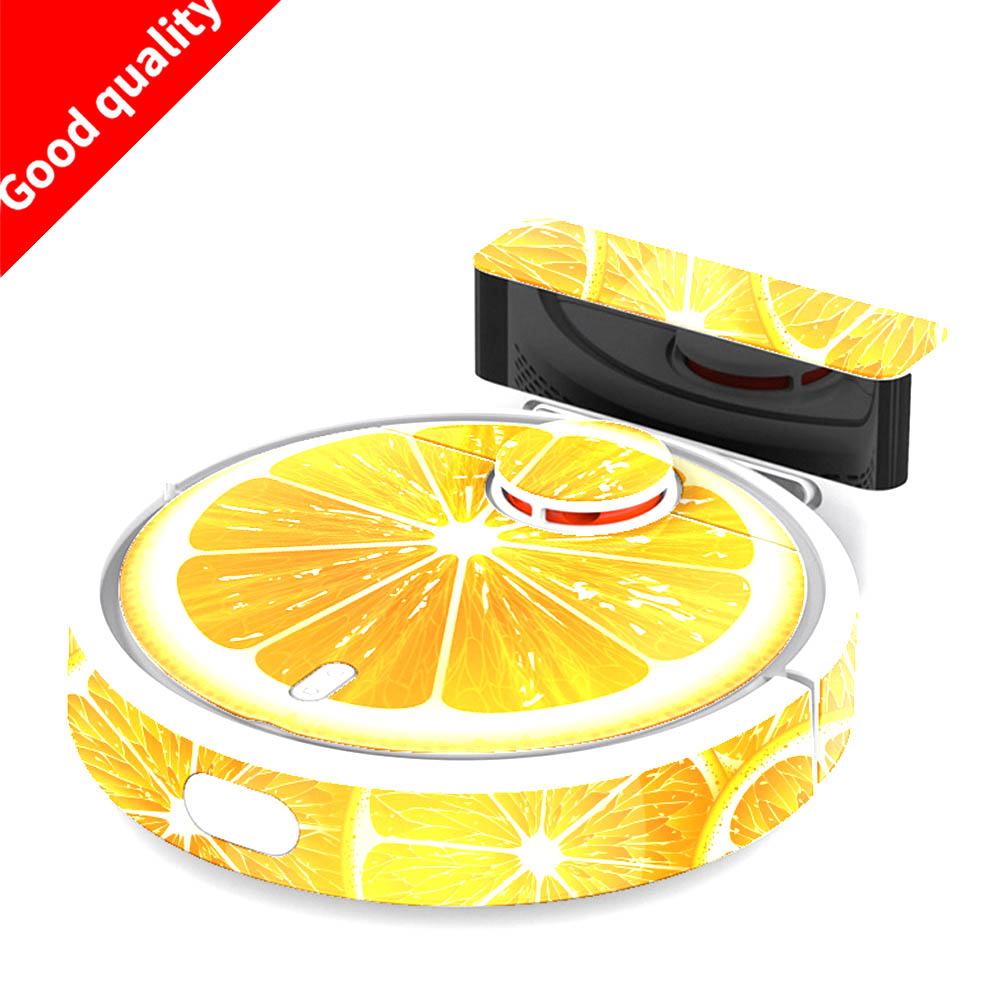 Replacement For Xiaomi MI Robotic Vacuum Cleaner Cute Sticker Protective Film 1-4 Models Can Be Selected