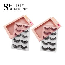 3d mink lashes 5pairs 100% cruelty free false eyelashes natural long eye lashes mink eyelashes for maquiagem mink cilios makeups