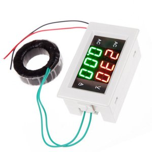 AC 300-500V 50A Digital Voltmeter Current Ammeter LED Analysis Volt Meter Electrical Instruments(China)