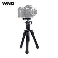 Portable Mini Tripod DSLR Pocket Microspur Photos Tripode Camera Professional Mount with 1/4 360 Degree Ball Head For Sony Nikon