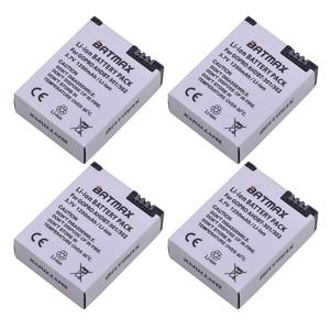 Image 2 - 4 pezzi 1250mAh Hero 3 Gopro Hero3 sostituzione batteria LED caricatore doppio USB per GoPro Go pro Hero 3 3 telecamere