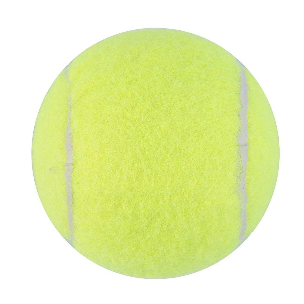 OUTAD Yellow Tennis Ball Sports Tournament Outdoor Fun Cricket Beach Dog Activity Game Toy MC Tennis  Practice Training Balls