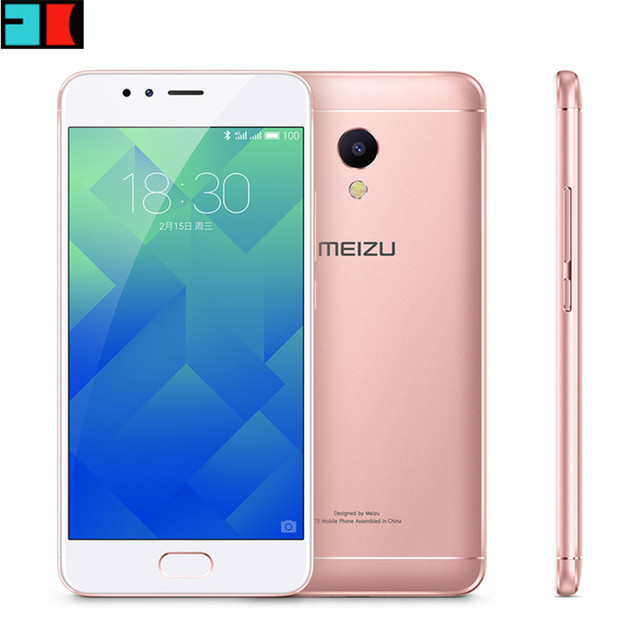 "Original MEIZU M5S MTK6753 Octa Core 3GB RAM 32GB ROM Cell Phone 5.2"" 3000mAh 13.0MP Fingerprint Fast Charging Mobile Phone"