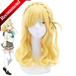 ROLECOS-Japanese-Anime-Love-Live-Sunshine-Cosplay-Mari-Ohara-Cosplay-55cm-21-65inches-Long-Blond-Cosplay