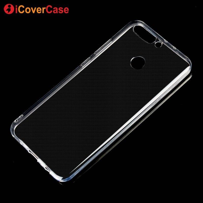 Para huawei honor 8 pro case 5.7 pulgadas claro transparente suave tpu case para