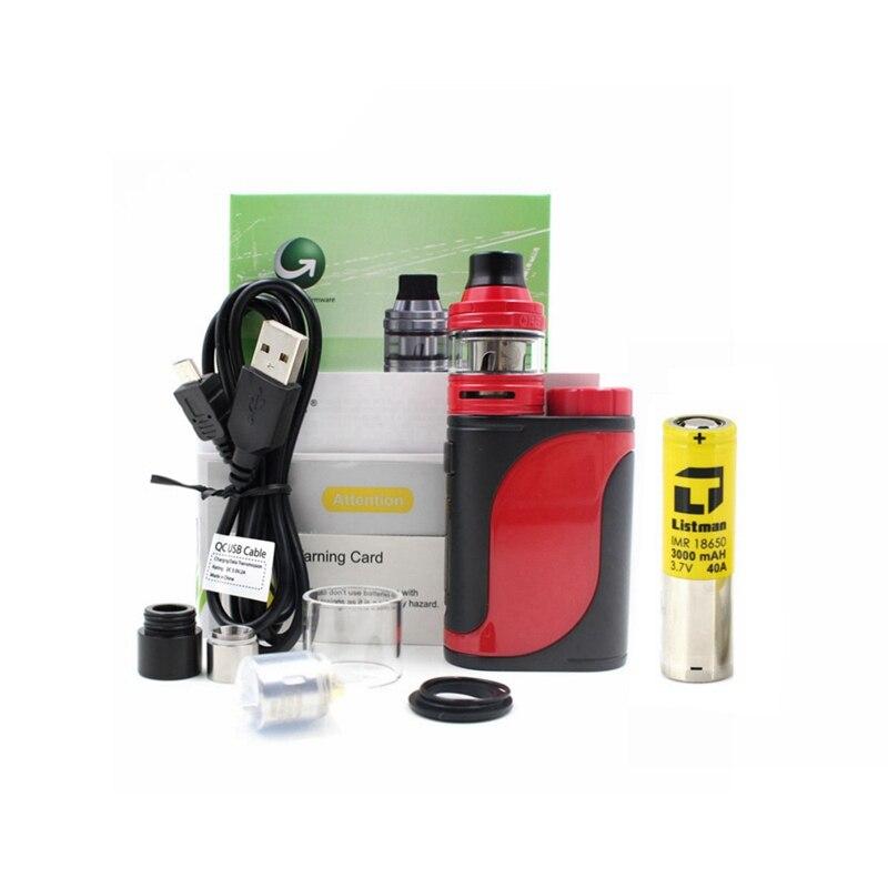Sigarette elettroniche Eleaf iStick Pico 25 Kit 85 W Box MOD 2 ML ELLO Serbatoio Atomizzatore Kit con Listman 18650 3000 mah 40A batteria