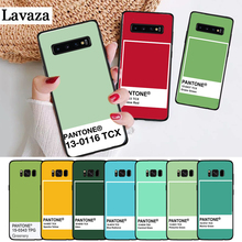цена на Lavaza Pantone Candy Color Silicone Case for Samsung S6 Edge S7 S8 Plus S9 S10 S10e Note 8 9 M10 M20 M30