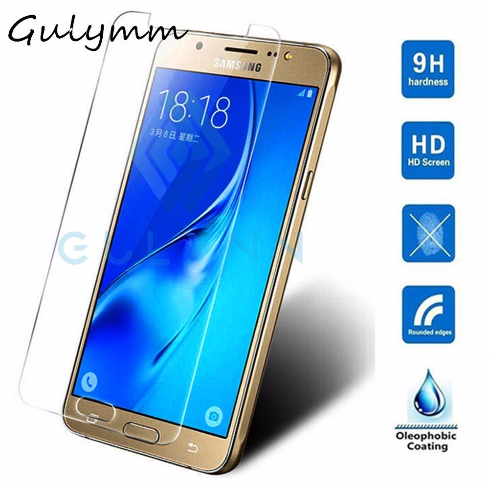 0 22mm 9H Tempered Glass For Samsung Galaxy J3 J5 J7 2018 A10 A30 A20 A50 J4 J6 J8 Plus Screen Protector Protective Film Cover in Phone Screen Protectors from Cellphones Telecommunications
