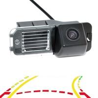 Variable Parking Line Dynamic Trajectory Tracks Car Rear View Backup Camera For VW Volkswagen Polo V 6R) / Golf 6 VI / Passat CC