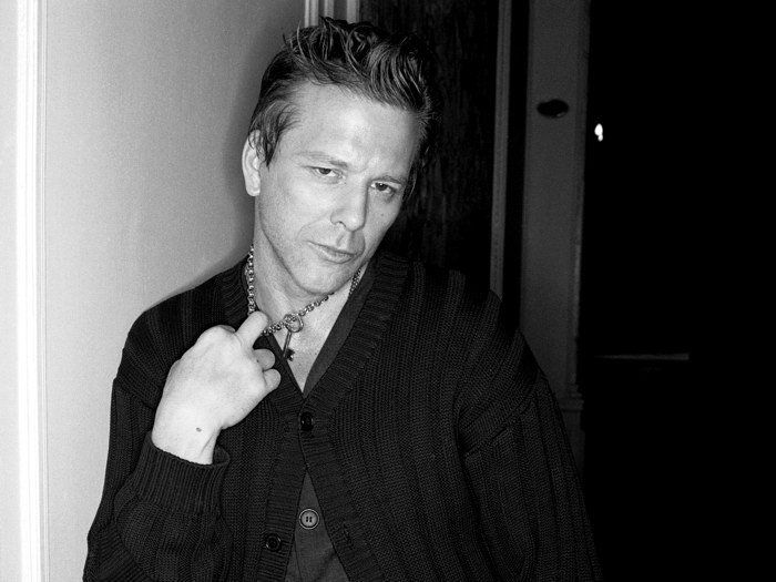 D1096 Mickey Rourke Young Actor Hot BW-Print Silk Art Wall Poster image