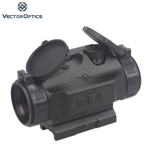 وکتور اپتیک شکار 1x30 Reflex Red Dot Sight Scope 3 MOA Brightness Dot fit AK47 AR15 9mm Laru Picatinny Weaver Rail