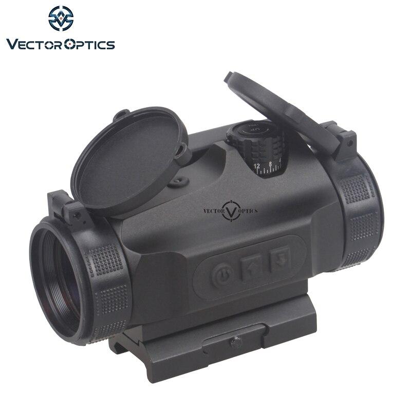 Vector Optics Hunting 1x30 Reflex Red Dot Sight Scope 3 MOA Auto Brightness Dot fit AK47 AR15 9mm Laru Picatinny Weaver Rail